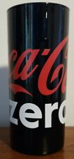 Rare Coca-Cola Coke ZERO Drinking Glass - VGC