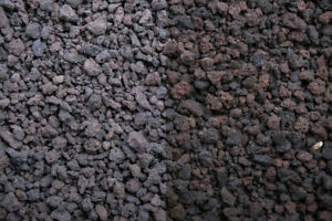 Streugranulat - aus effizienten und leichten Lavagestein