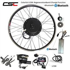 48V 500W 1000W 1500W Conversion Kit Cycling Motor 27.5 28 29 inch Motor Hub LCD8