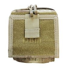 Molle Tactical ATLAS Map Pouch ID Admin Chart Case Clear Cover Carrier-ATACS