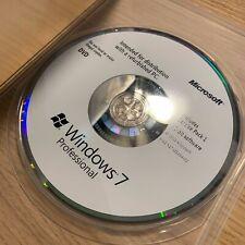 OEM Windows 7 Professional Microsoft Software 32-bit X17-03434-02
