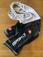 CASTELLI Bib Shorts Black Size LARGE Expensive Pro Quality