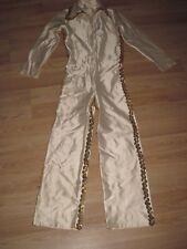 Vintage Elvis Presley Style Rock & Roll Singer Sequined Custom Made Jumpsuit