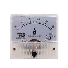 Class 2.5 Accuracy DC 0-50A Analog Panel AMP Meter FREE SHIPPING