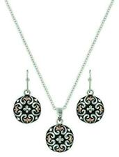 Montana Silversmith Filigree Button Jewelry Set
