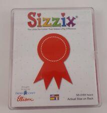 Sizzix Originals Large Red Die Award Ribbon  #38-0139 Provo Craft