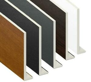 UPVC Fascia Capping Board, Window Cill, Square Edge, Corners, Flat Board 5 metre