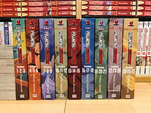 FULLMETAL ALCHEMIST 1-27 Manga Set Collection Complete Run Volumes ENGLISH RARE
