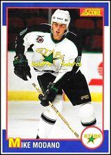 SCORE KELLOGG'S CEREAL 1991 MIKE MODANO NHL DALLAS STARS RARE ODDBALL CARD #4