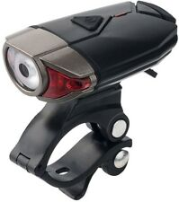 Yakamoz LED Front Bike Lights, USB Rechargeable Bicycle Headlight With 4 Light
