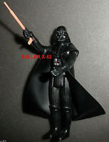 CLASSIC DARTH VADER figure 90s RETRO kenner STAR WARS VINYL CAPE lightsaber toy