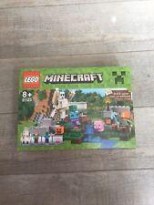 Boite Lego Minecraft Le golem de fer non ouverte 21123