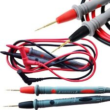 Needle Tipped Tip Multimeter Probes Test Leads Tester 1000V 20A 90cm Cable M