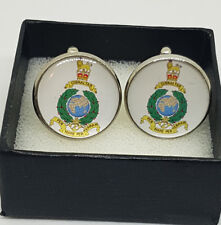 Made to Order Royal Marines Commando - Emblem Cufflinks - A Great Gift