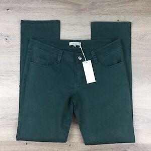 Fuss Jean Pant Jungle Green Women's Jeans Size 12 RRP$119 NWT (WW7)