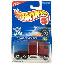 Hot Wheels Thunder Roller Kenworth K100 Aerodyne Tractor Semi Cab Truck Red 1/64