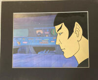 Star Trek Spock Animated Series Animation Cell With Background
