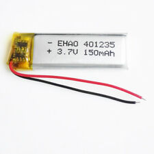 3.7V 150mAh lipo rechargeable Battery 401235 For MP3 Bluetooth bracelet Selfie