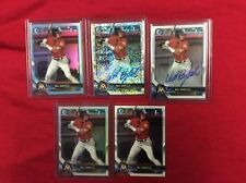 WILL BANFIELD 2018 BOWMAN DRAFT CHROME  SPARKLE REF  RC AUTO #43/69 Lot 5 LOOK!