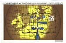 DDR Blocco 34 usato 1972 Meteorologia