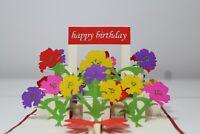 3D POP UP CARD - Happy Birthday / Flower