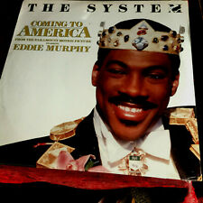 """THE SYSTEM - COMING TO AMERICA -MOVIE THEME- 12""""VINYL 1988 SEALED PIC COV MINT"""