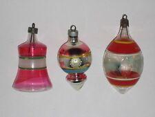 USA Antique Glass Premier Vintage Christmas War Ornament Decoration 1940's