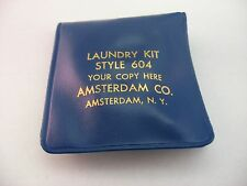 """Vintage Advertising Laundry Kit Line Clips Style 604 """"Your Copy Here"""" Amsterdam"""