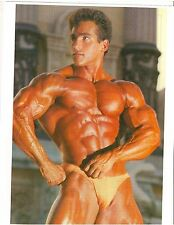 bodybuilder BOB PARIS Bodybuilding Muscle Photo Color