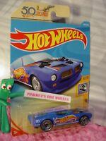 '70 PONTIAC FIREBIRD #288✰blue/orange✰50TH RACE TEAM✰2018 i Hot Wheels WW Case N
