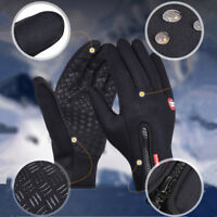 Winter Sports Neoprene Windproof Waterproof Ski Touch Screen Thermal Gloves NEW