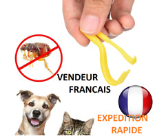Lot 2 tire tiques  humain/chien/animal/cheval/chat crochet pince tic tick rapide