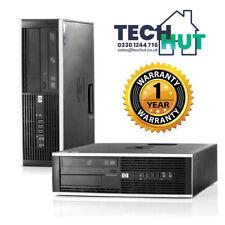 HP Elite 8300 SFF PC, i5-3470, 4Gb Ram, 250 HDD, Windows 10 Pro, Gaming