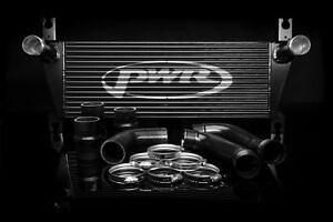 PWR Mazda BT50 Ford Ranger PX 3.2L '12 onwards Intercooler Kit Black PWI53860BK