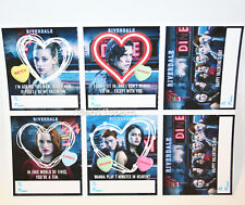 6 Riverdale Valentines Day Cards Jughead Archie Betty Hot Topic Exclusive NEW