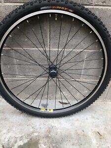 "Shimano Deore Mtb Mountain Bike Ruota Anteriore 26"""