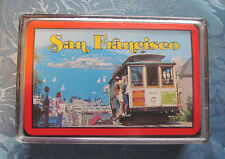 Playing cards SAN FRANCISCO one deck in plastic case