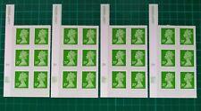 2011 20p Machin Self Adhesive Cylinder blocks of 6  x4 Grids