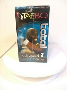 Tae Bo- The Ultimate Total Body Basic And Advanced Full Set of 8 VHS tapes