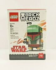 Lego Star Wars BrickHeadz Boba Fett 41629. New in sealed box. Retired 161 pieces