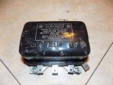 Vintage American Bosch 6V 40amp regulator RGR 640H105 positive negative ground
