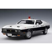 AUTOART 1:18 Ford Mustang MACH Japan Tochigi Police Car Diecast Car Model NEW