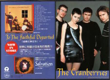 1996 The Cranberries photo To The Faithful Departed JAPAN album promo ad c6r