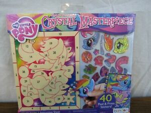 My Little Pony Crystal Masterpiece Wood and stickers Kit New in package