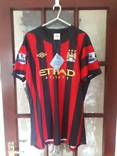 Manchester City 2011/12 away shirt Tevez 32 size L Bnwt