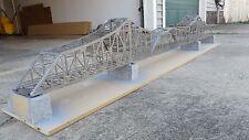 Cantilever design, N gauge L.E. NICE  low piers