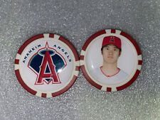 SHOEI OHTANI LOS ANGELES ANGELS  POKER CHIP - BALL MARKER - SIGNED  **FREE S/H**