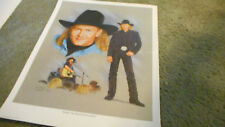 Vintage Tracy Lawrence Rockin' The World Country Style Promo Poster