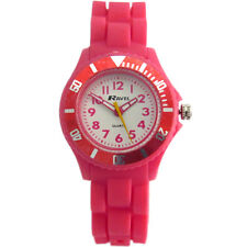 Ravel Children's Easy Read Quartz Watch With White Dial Analogue Display and Pin