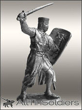 # 183 Tin 54mm Figurine Teutonic Knight 13AD